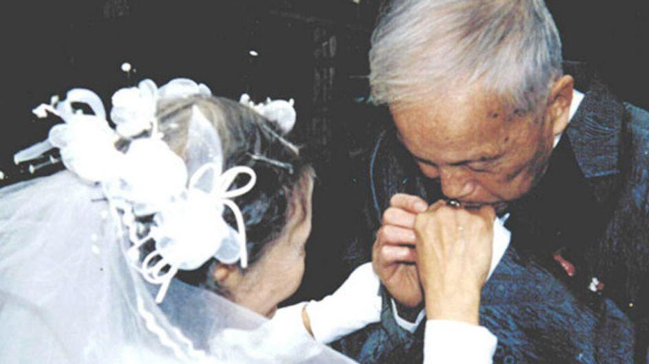 Dieses Paar stellt 70 Jahre nach dem ersten Ja-Wort seine Hochzeitsfotos noch einmal nach