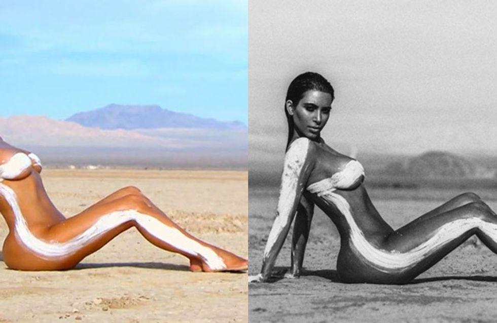 Kim Kardashians Most Nude Magazine Covers!