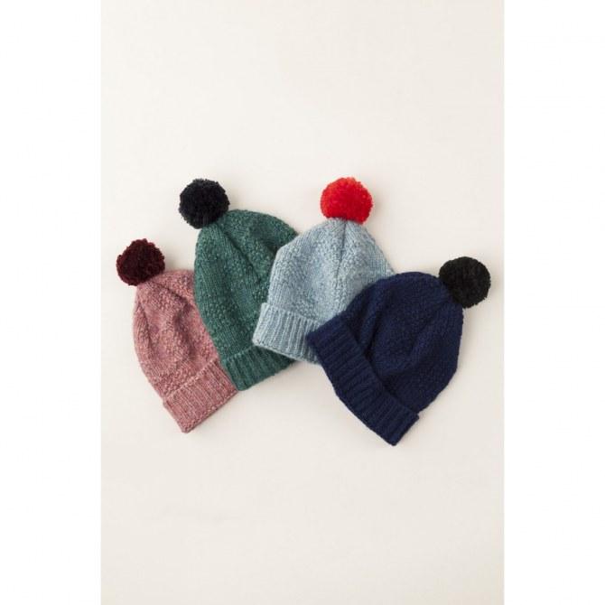 Set di berretti di lana Lazzari
