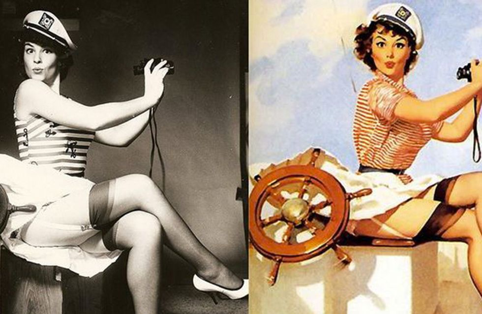 Curiosa para saber como as modelos trabalhavam antes do Photoshop? Respostas aqui