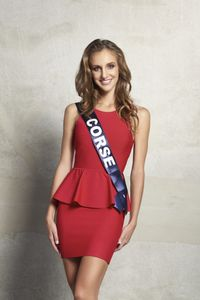 Jessica Garcia, Miss Corse 2015