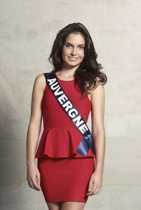 Pauline Bazogue, Miss Auvergne 2015