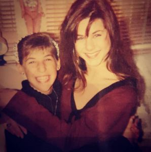 Mayim Bialik et Jennifer Aniston
