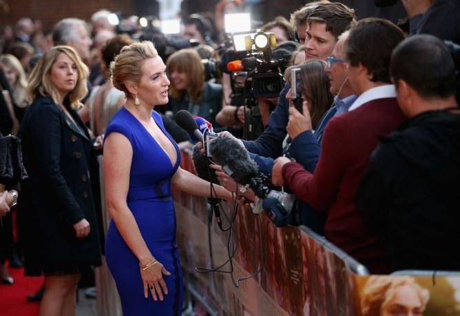 Kate Winslet n'aimerait pas parler d'argent