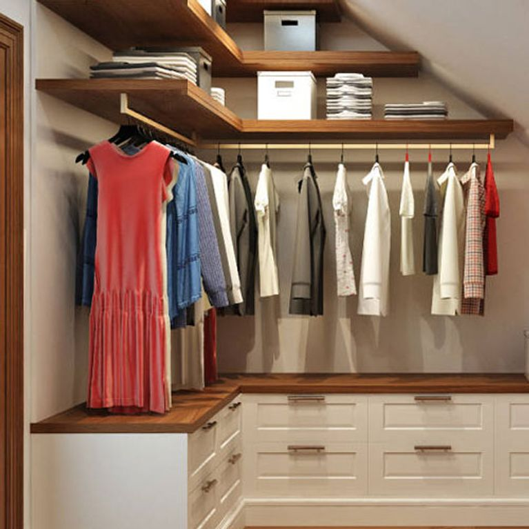Ideas para dise ar un vestidor peque o for Como disenar un departamento chico
