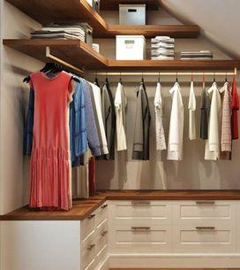 Ideas para diseñar un vestidor pequeño