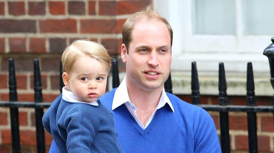 Le prince William se confie sur le noël de Baby George