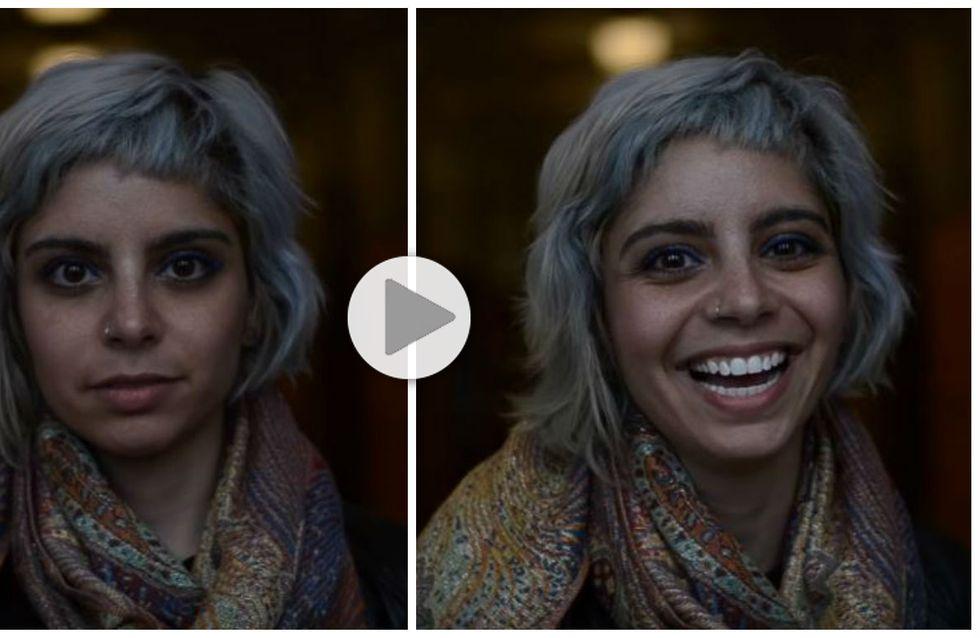 Comment réagissent les gens lorsqu'on leur dit qu'ils sont beaux ? (Vidéo)
