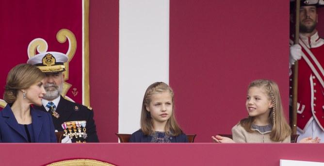 La reine Letizia et ses filles