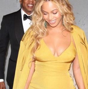 Beyoncé et Jay-Z amoureux.