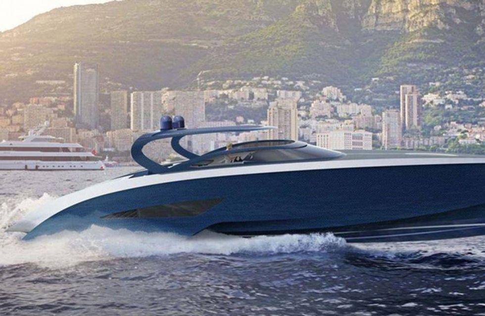 El yate de Bugatti y Palmer Jonhson, nuevo concepto de lujo marino