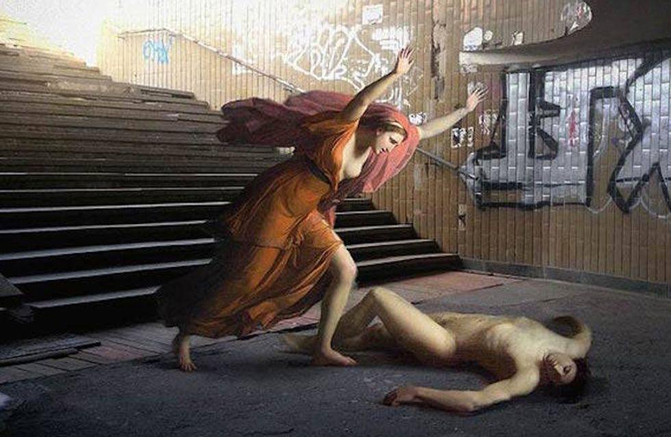 Del lienzo a la vida urbana, las pinturas renacentistas toman la calle