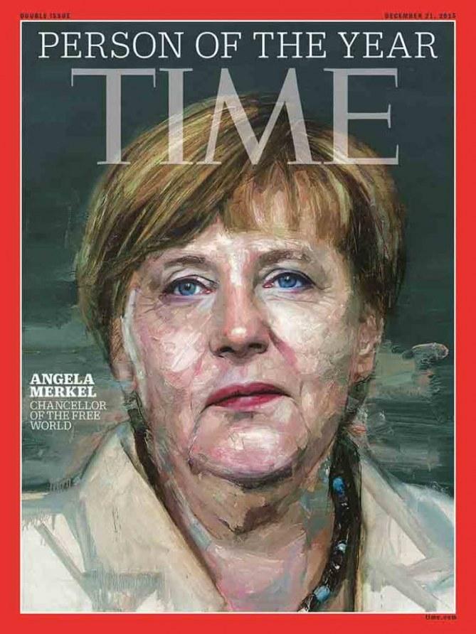 Angela Merkel, personnalité de l'année selon le Time