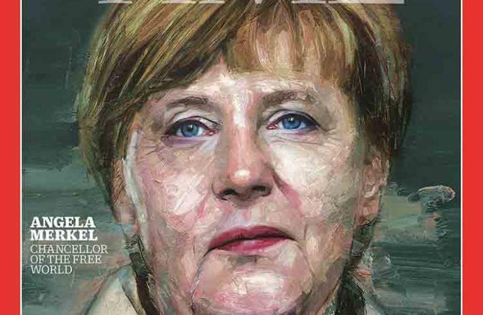 La femme de la semaine : Angela Merkel, élue Personnalité de l'année par le Time