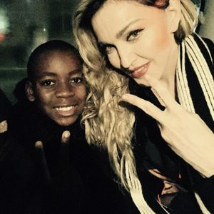 Madonna et son fils.
