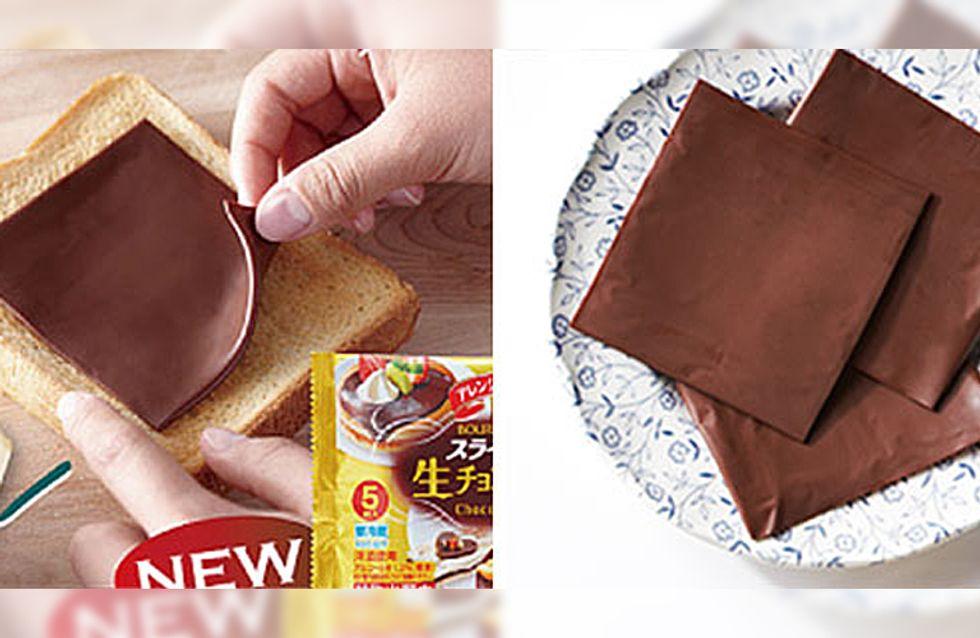 Nie mehr Nutella-Gläser auskratzen: Jetzt gibt es Schokoaufstrich in Scheiben