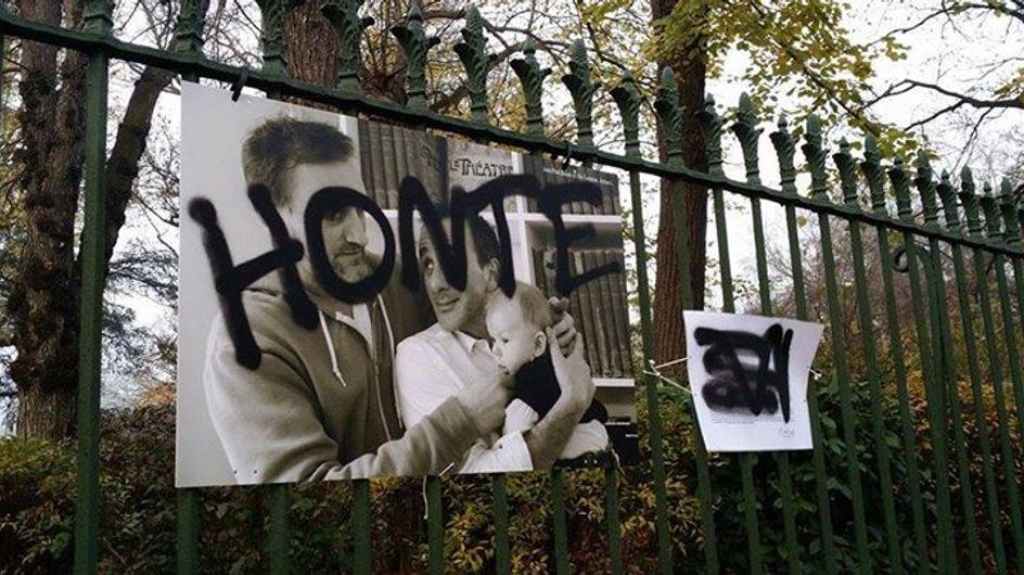 A Toulouse, une exposition contre l'homophobie vandalisée puis volée