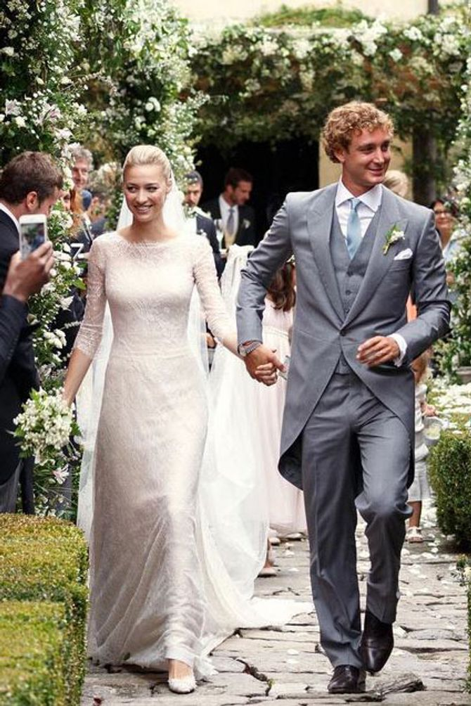 Beatrice Borromeo sublime en Armani