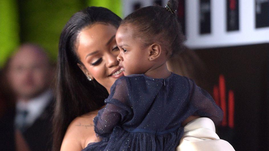Rihanna et sa nièce Majesty, un duo so cute sur le red carpet (Photos)