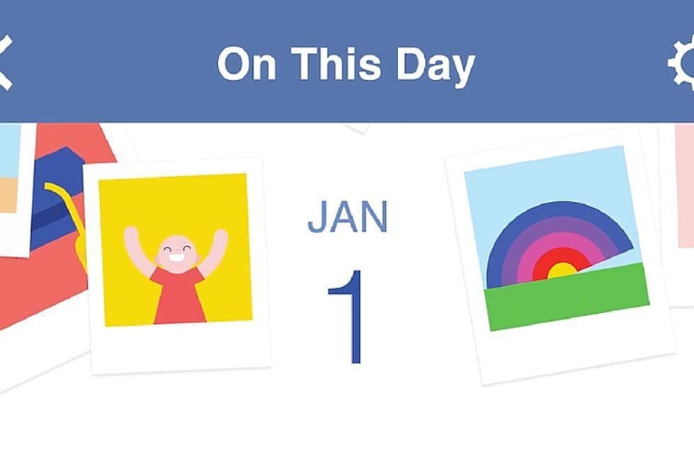 Il 2015 secondo Facebook (video)