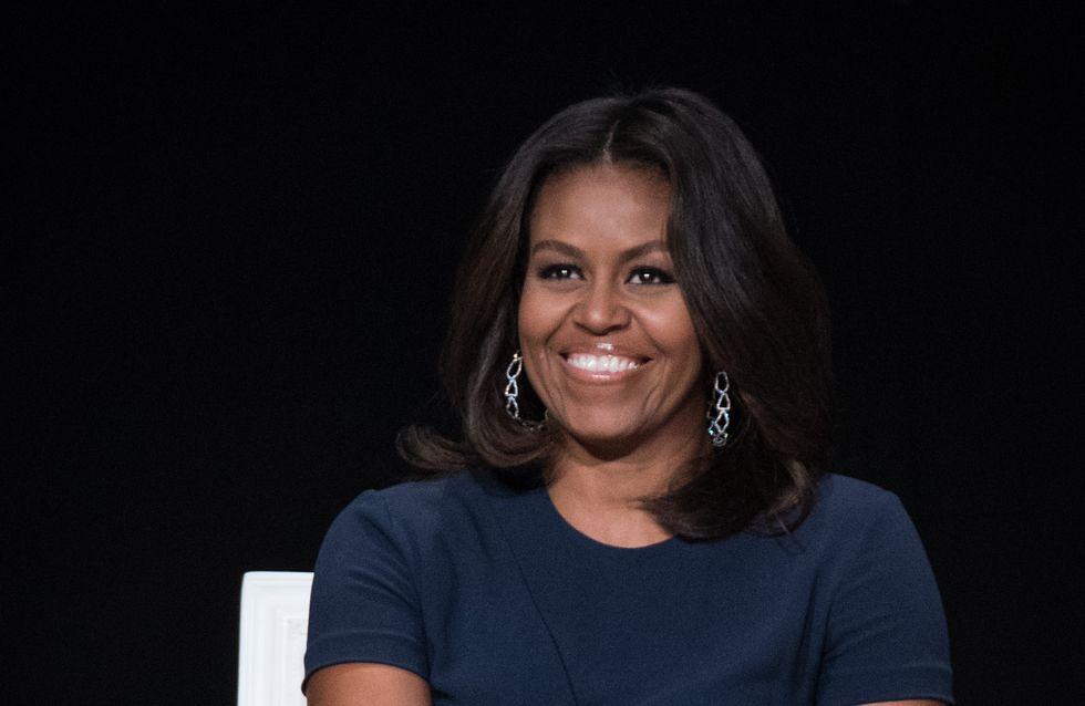 Michelle Obama se met au rap pour la bonne cause (Vidéo)