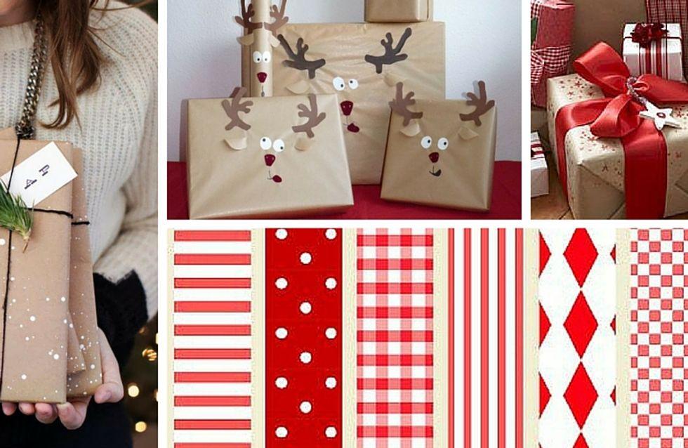8 modi creativi per incartare i tuoi regali di Natale
