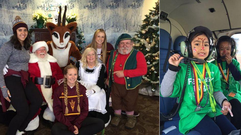 Diesen schwerkranken Kinder wird ihr größter Wunsch erfüllt: Eine Reise zum Nordpol!