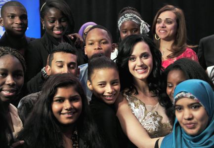 Katy Perry prend son rôle à l'UNICEF très à coeur