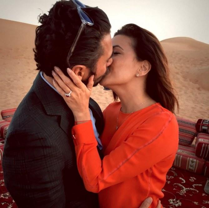 Eva Longoria officiellement fiancée !