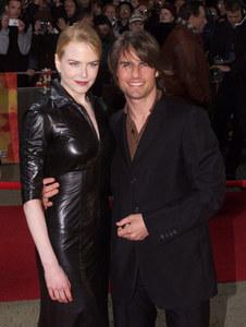 Nicole Kidman et Tom Cruise sur le tapis rouge.