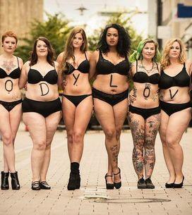 #bodylove, la campagna che rende omaggio al corpo delle donne
