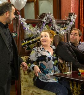 Coronation Street 31/12 - It's party time at the Barlows