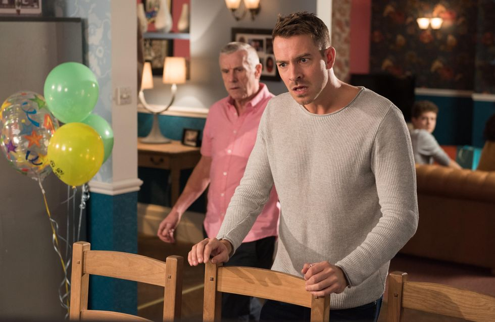 Hollyoaks 30/12 - Alfie gets a kitchen job at The Hutch