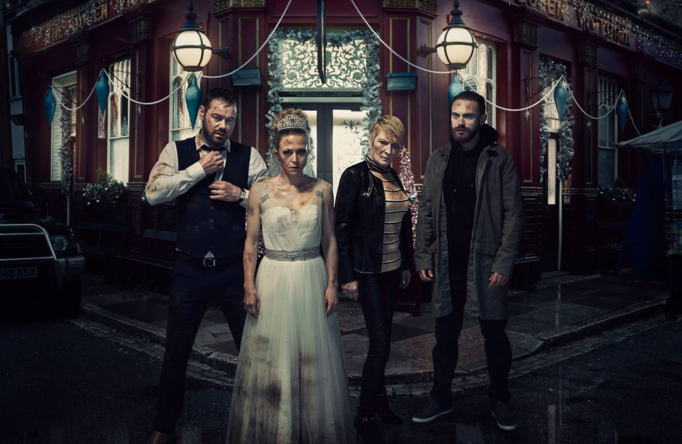 Eastenders 25/12 - It's an explosive Christmas Day in Albert Square