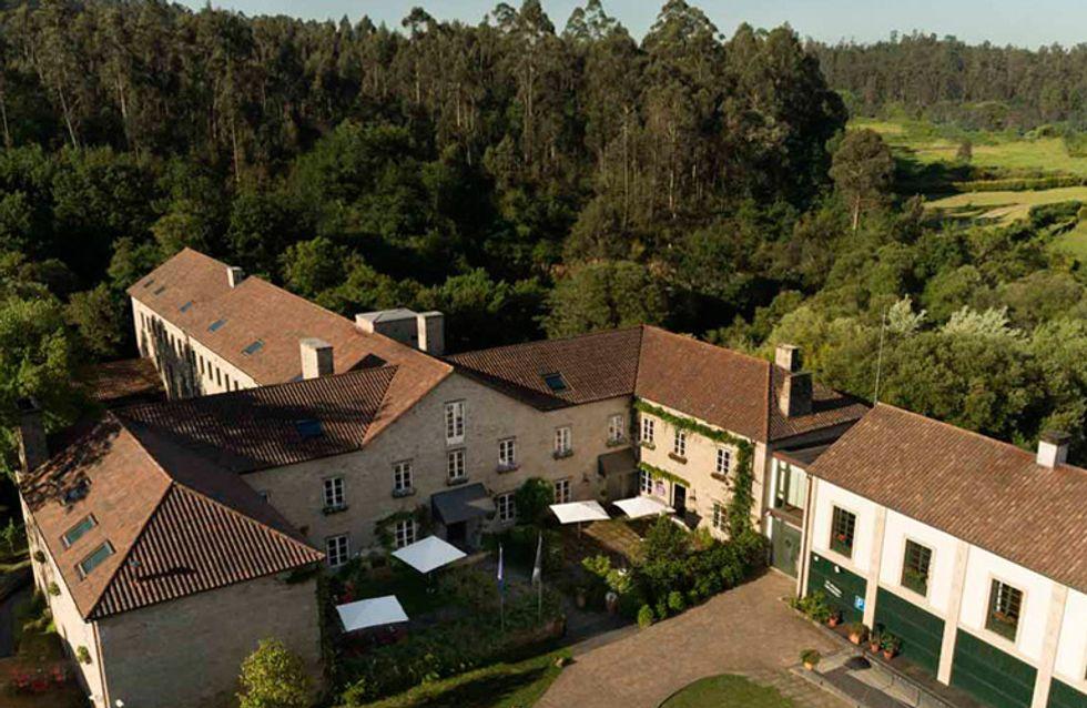 A Quinta da Auga, un hotel de cuento en el que perderte