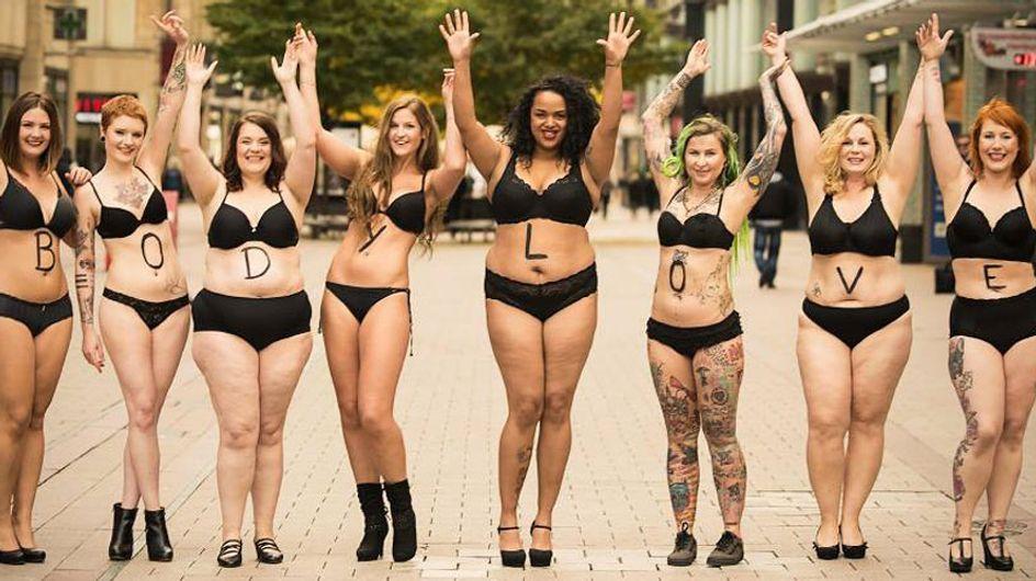#Bodylove, la campaña que celebra la naturalidad de los cuerpos de las mujeres