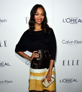 Zoe Saldana sublime en bikini un an après son accouchement (Photo)