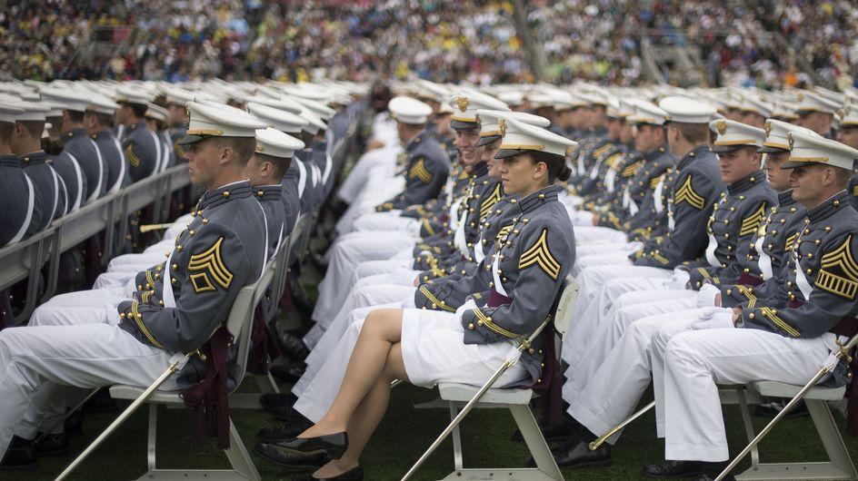 Diana Holland, première femme à diriger le corps des Cadets de West Point