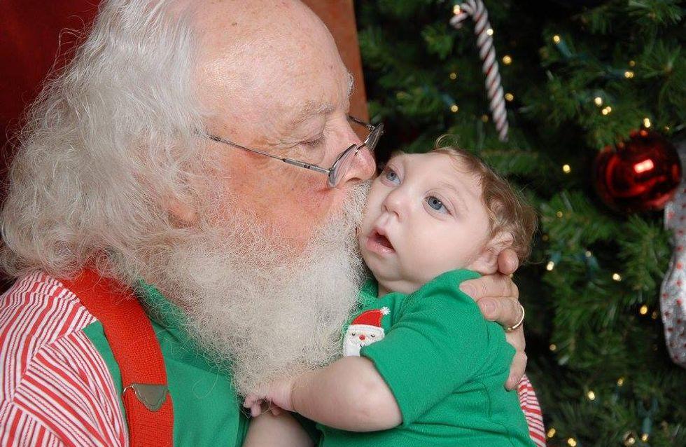 Die Ärzte hatten den Kleinen schon aufgegeben - doch heute feiert er sein zweites Weihnachten