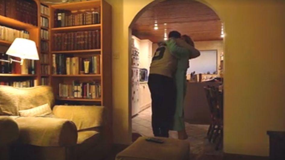 Wiedersehen nach drei Jahren: Diese Mama erlebt ihr persönliches Weihnachtswunder