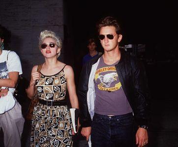 Madonna et Sean Penn.