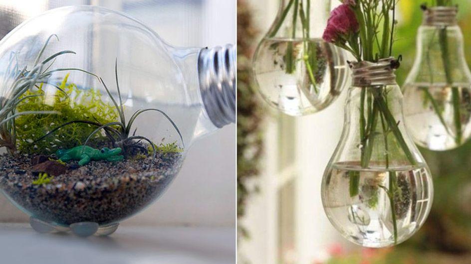 4 coole DIY-Hacks! So stylisch könnt ihr eure alten Glühbirnen recyclen