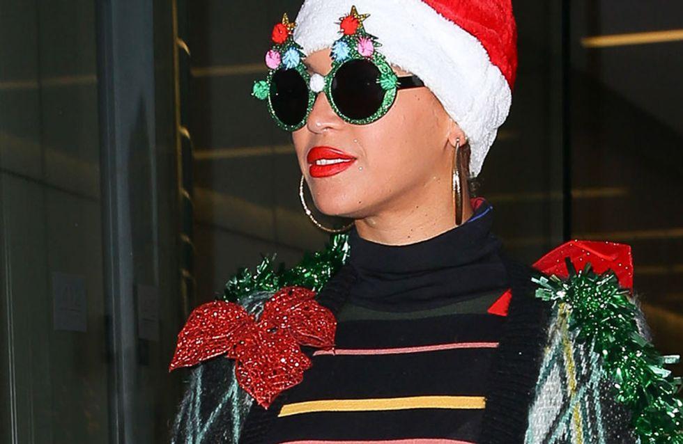Beyoncé vestida de Navidad, el peor look de la semana
