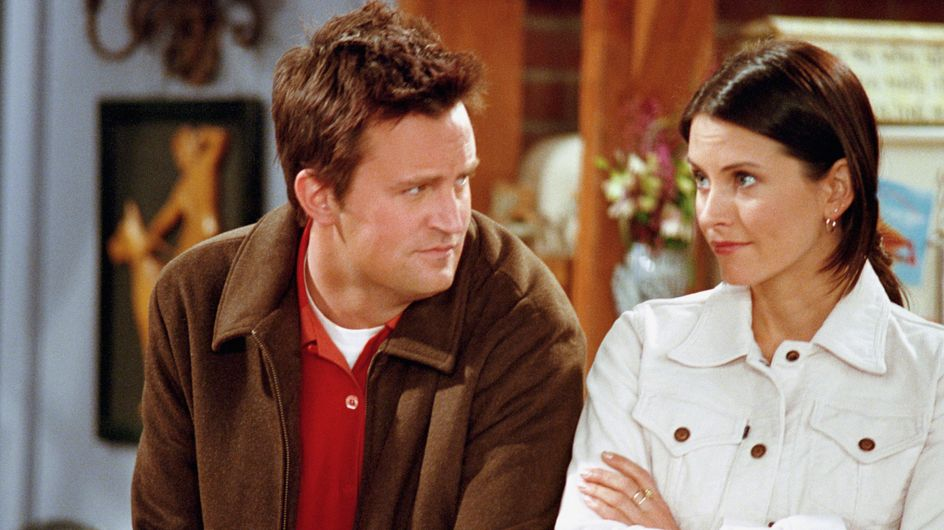 OH. MY. GOD! Monica And Chandler Are Dating IRL!