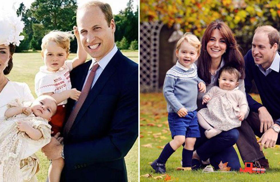 William e Kate: il dolce scatto con George e Charlotte per gli auguri di Natale!