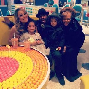 Mariah Carey, Nick Cannon et leurs jumeaux