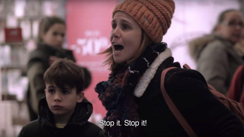 Plötzlich hallen Hilfeschreie durch ein Einkaufszentrum - wie hättet IHR reagiert?