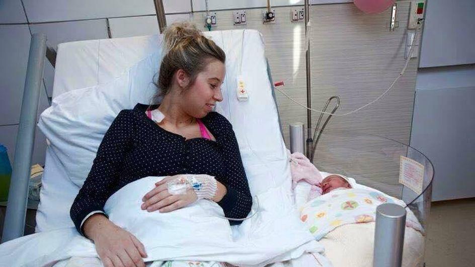 SO ein Bett wünscht sich wohl jede Mama gleich nach der Geburt