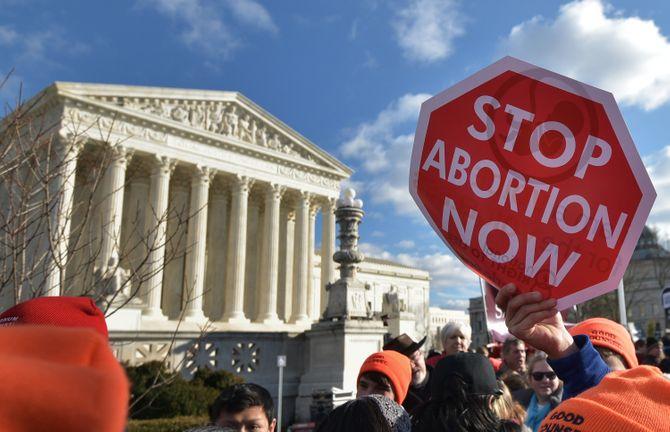 Une manifestation anti-avortement