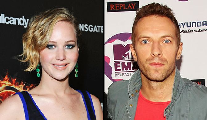 Jennifer Lawrence - Chris Martin